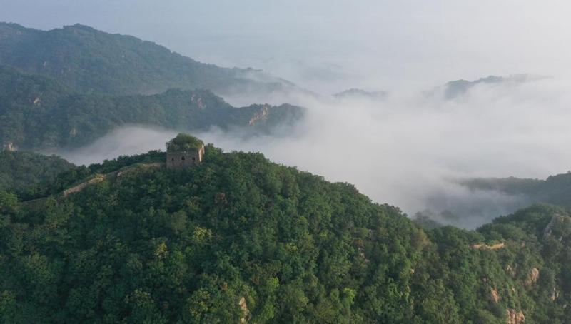 Die Große Mauer in Luftbildern