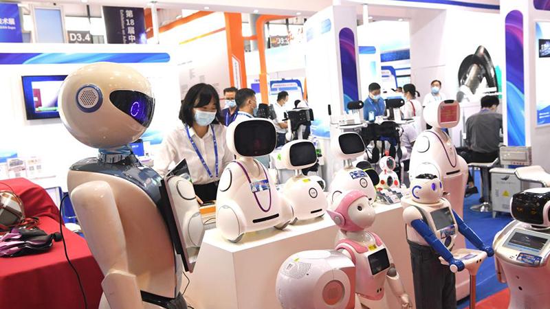 Menschen besuchen 18. China-ASEAN Expo in Nanning