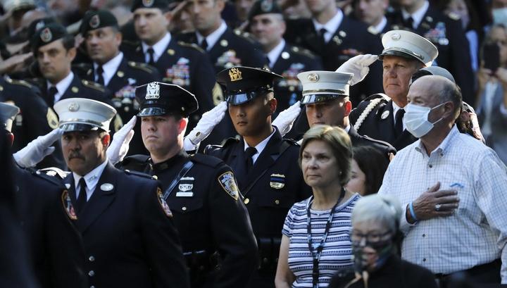 Fotoreportage: USA begehen 20. Jahrestag der Anschläge vom 11. September