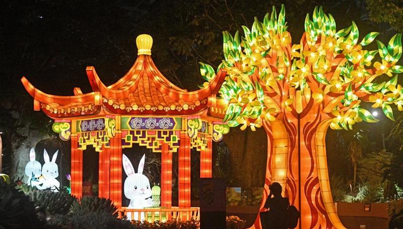 Singapur hält Veranstaltung zur Begrüßung des kommenden Mittherbstfestes ab