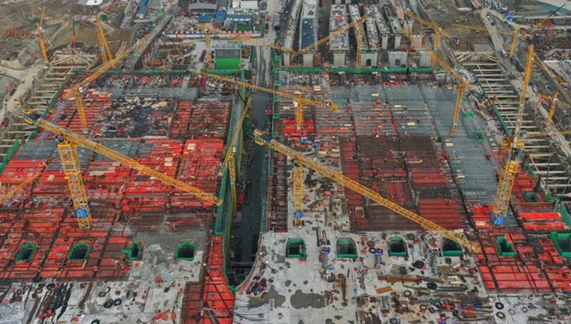 Chinas Anlageinvestitionen steigen im laufenden Jahr um 8,9 Prozent