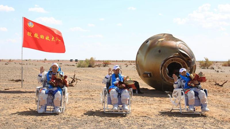 Shenzhou-12-Astronauten landen sicher
