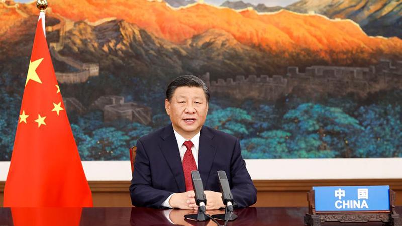 Xi hält Rede bei Generaldebatte der 76. Tagung der UN-Generalversammlung