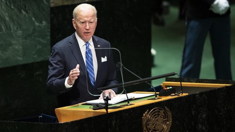 US-Präsident Joe Biden spricht bei UN-Generalversammlung