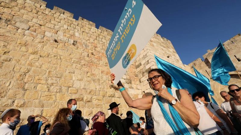 Jüdische und arabische Frauen demonstrieren für Frieden in Jerusalem