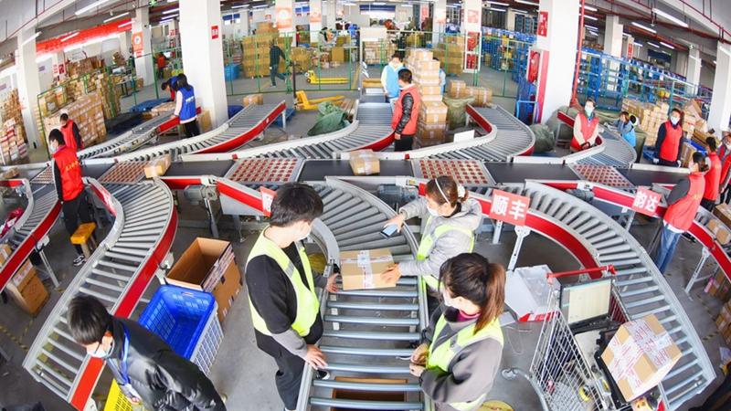 Chinas Postsektor erzielt solides Umsatzwachstum