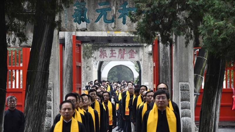 China feiert Geburtstag von Konfuzius