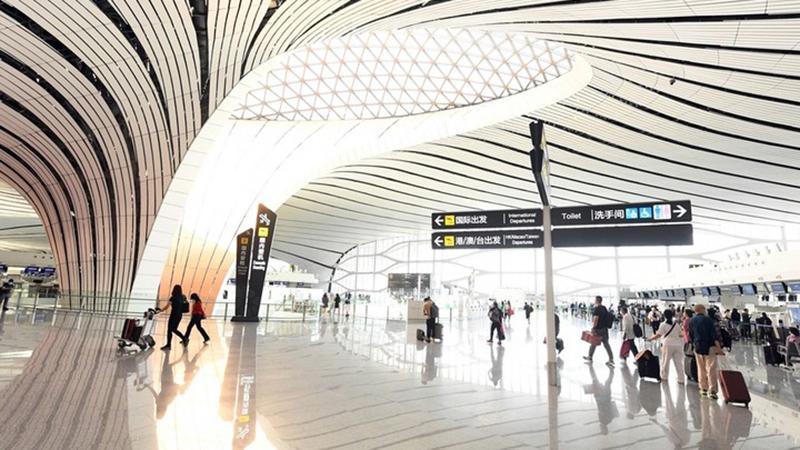 Beijings neuer Flughafen erreicht Passagieraufkommen von fast 39 Millionen