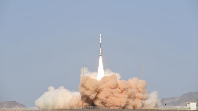 China startet neuen Satelliten