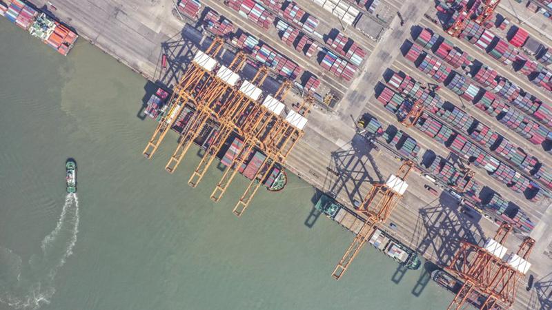 Chinas Fracht- und Containerumschlag steigt im August