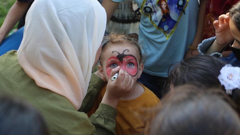 SOS-Kinderdorf im Gazastreifen veranstaltet Fest für Waisenkinder