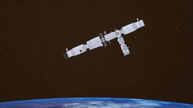 Chinas bemanntes Raumschiff Shenzhou-13 dockt erfolgreich an Raumstationsmodul an
