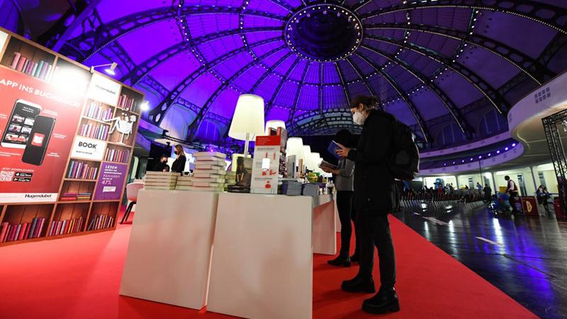 Mehr als 50 chinesische Verleger stellen auf der Frankfurter Buchmesse aus