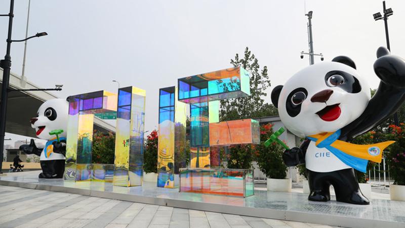 Shanghai bereitet sich auf 4. Internationale Importmesse Chinas vor