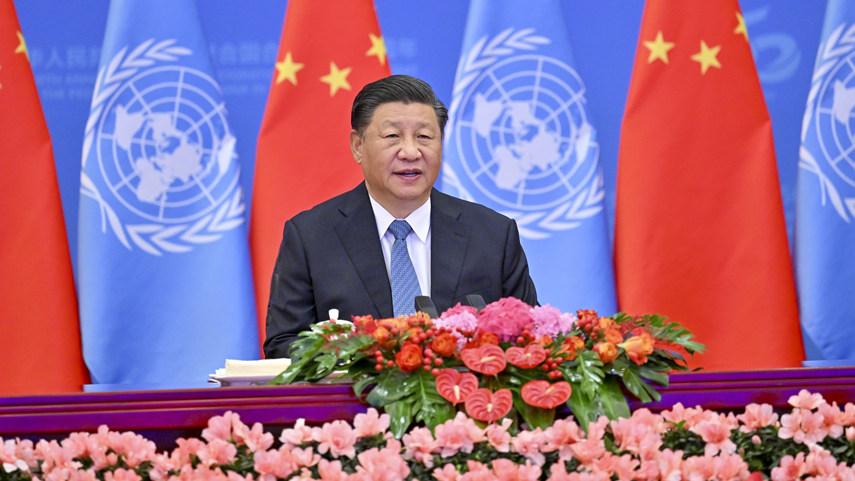 Xi nimmt an Konferenz zum 50. Jahrestag der Wiederherstellung des rechtmäßigen UN-Sitzes der Volksrepublik China teil