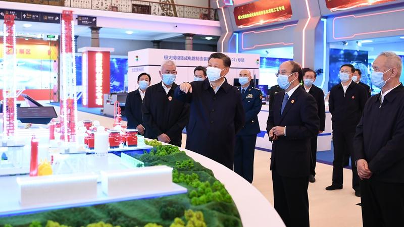 Xi fordert größere Anstrengungen zum Ausbau der Stärke Chinas in Wissenschaft und Technologie
