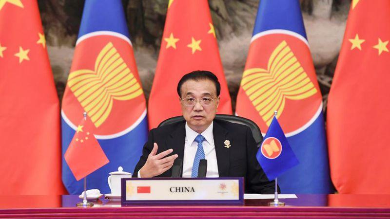Li Keqiang nimmt am 24. China-ASEAN-Gipfel teil
