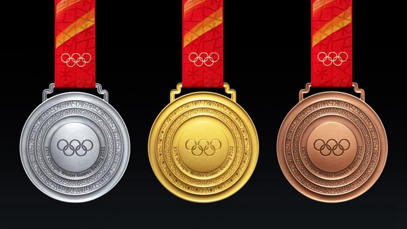 Design der Medaillen von Olympischen Winterspielen 2022 in Beijing enthüllt